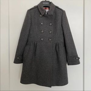 Burberry girls coat